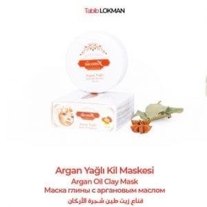 Argan Yağlı Kil Maskesi Tabib Lokman