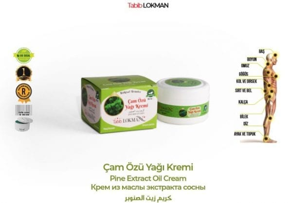 Çam Özü Yağı Kremi Tabib Lokman