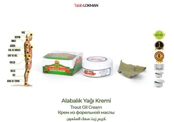 Tabib Lokman Alabalık Yağı Kremi
