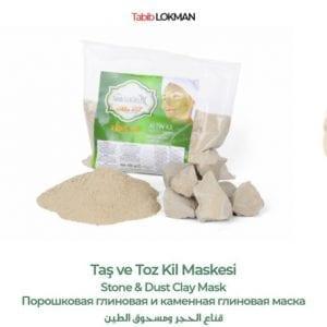 Taş ve Toz Kil Maskesi Tabib Lokman